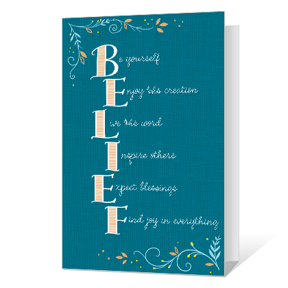 Belief in God Printable Confirmation Cards