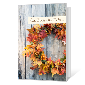 To Keep in Touch Printable Thanksgiving Cards