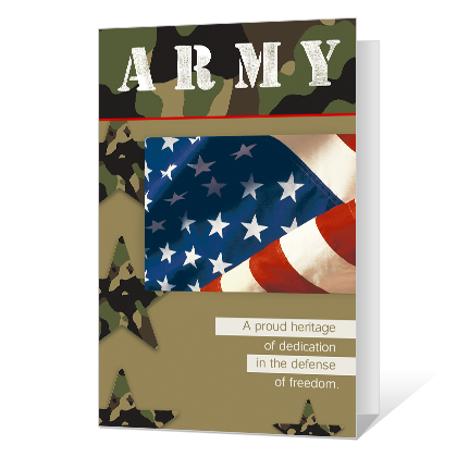 Army Veterans Day Printable Veterans Day Cards