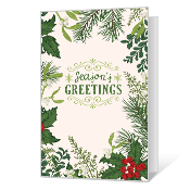 Season's Wishes Printable Season's Greetings Cards