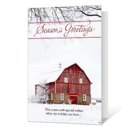 Laughter, Warmth & Cheer Printable Season's Greetings Cards