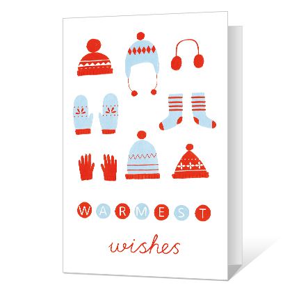 Cozy Greetings Printable Season's Greetings Cards