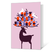 Joy Love Peace Printable Season's Greetings Cards