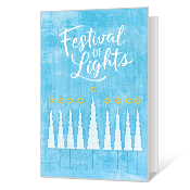 Festival of Lights Printable Hanukkah Cards