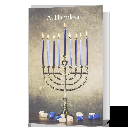 At Hanukkah Hanukkah Cards
