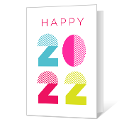 Happy 2019 Printable New Year's Day Cards