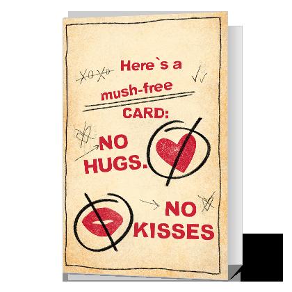 A Mush-Free Valentine Valentine's Day Cards