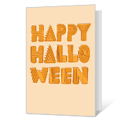 Hauntingly Happy Printable Halloween Cards
