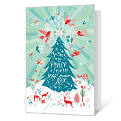 Love is the Answer Printable Christmas Cards