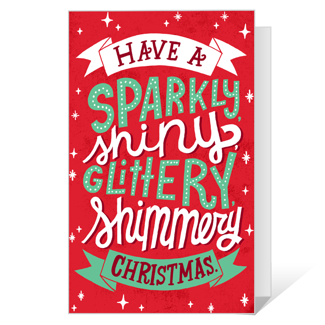 So Much Twinkly!<br>Add-a-Photo Christmas Cards