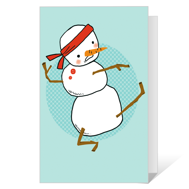 Pa-rum-pa-pum-pow<br>Printable Christmas Cards
