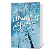 Thankful Printable Thank You Cards