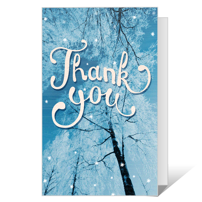 Thankful<br>Printable Thank You Cards