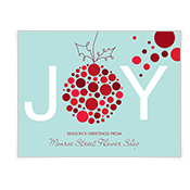 The Season of Joy Season's Greetings Cards
