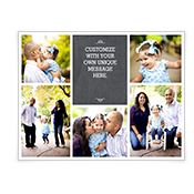 Chalkboard Greetings Add-a-Photo Christmas Cards