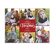 A Very Merry Christmas Add-a-Photo Christmas Cards
