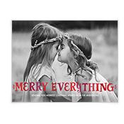 Merry Everything Add-a-Photo Christmas Cards