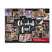 Oh, What Fun! Add-a-Photo Christmas Cards