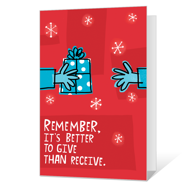 Give & Take<br>Add-a-Photo Christmas Cards