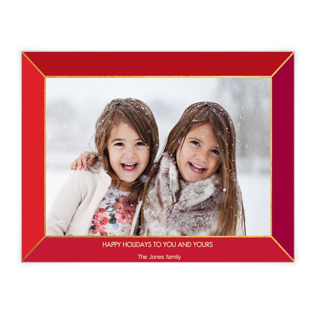 Happy Holidays<br>Add-a-Photo Christmas Cards