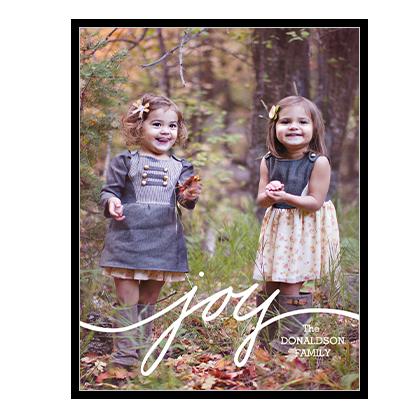 Sending Joy<br>Add-a-Photo Season's Greetings Cards