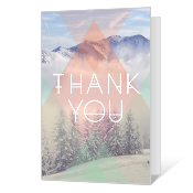 Totally Majestic Printable Thank You Cards
