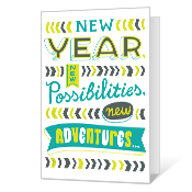 Happy Us! Printable New Year's Day Cards