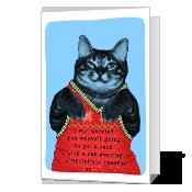 Meowy Christmas Printable Christmas Cards