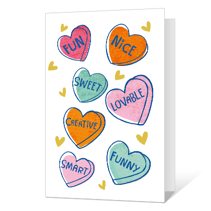 So Many Awesome Things About You! Valentine's Day Cards
