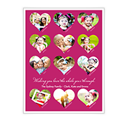 Whole Year Of Love Add-a-Photo Valentine's Day Cards