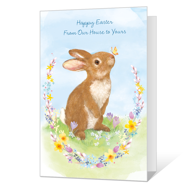 From Our House to Yours Easter Cards