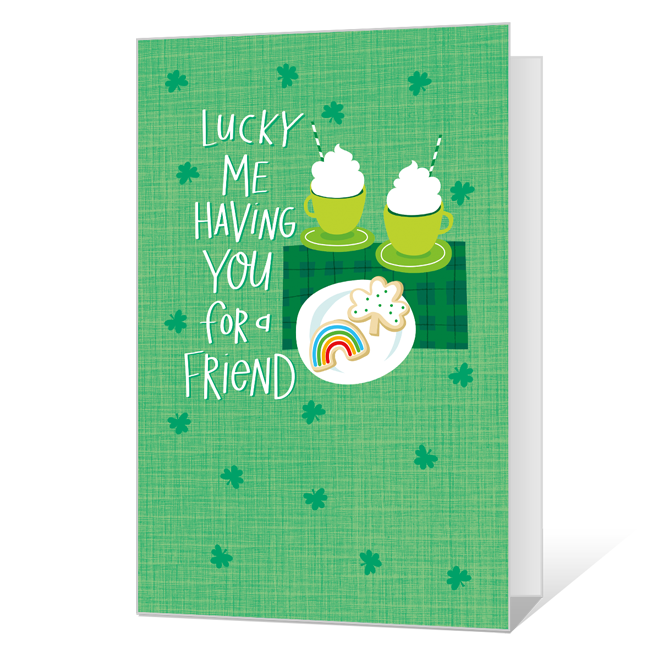 Lucky Me St. Patrick's Day Cards