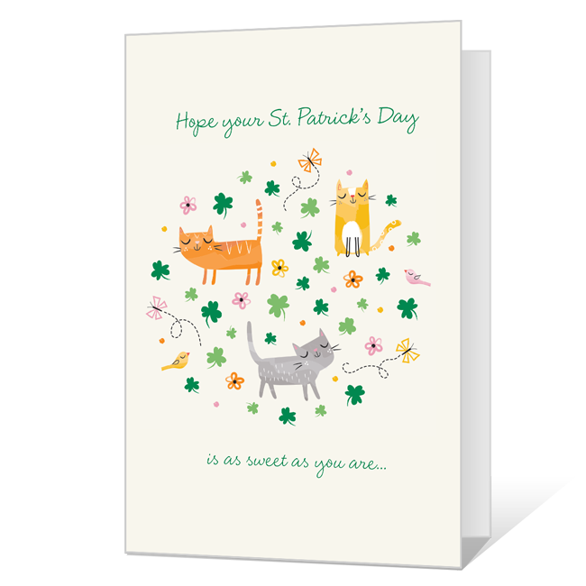 As Sweet as You St. Patrick's Day Cards