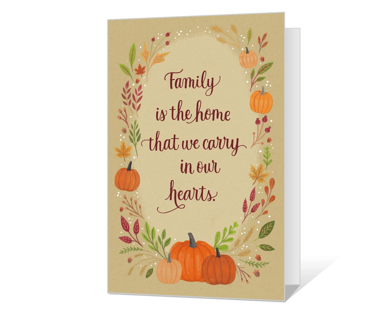 Printable Thanksgiving Cards Print Free At Blue Mountain