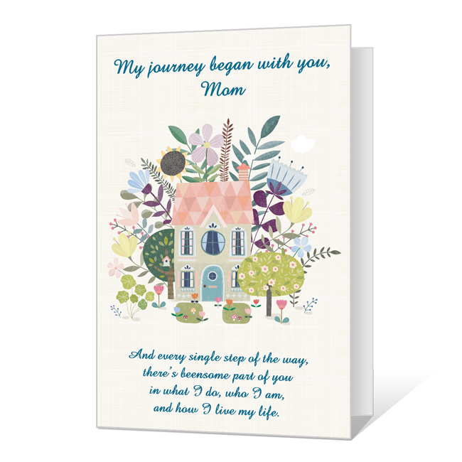 You Were Always There, Mom Birthday Cards
