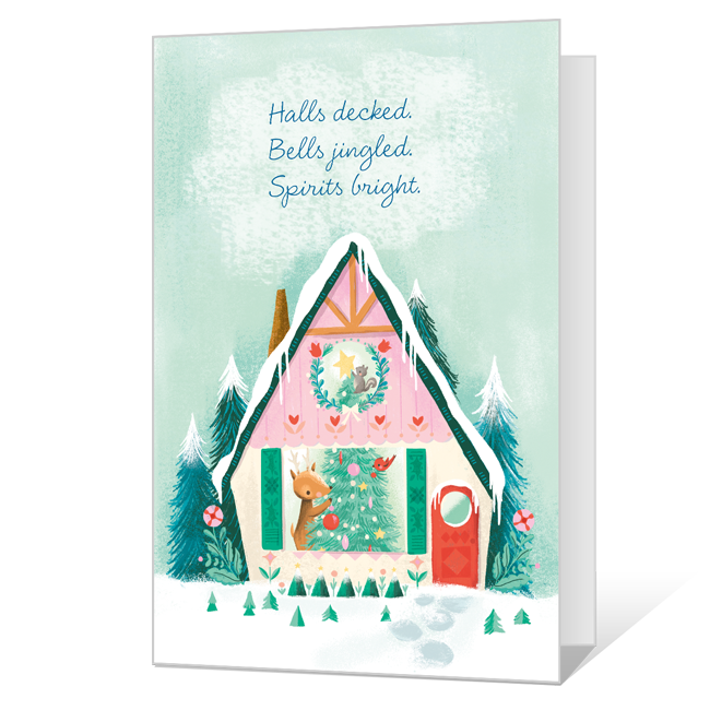 The Merriest of Christmases Printable Christmas Cards