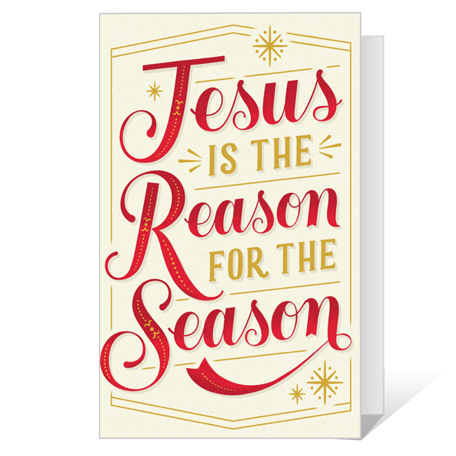 The Reason for the Season Printable Christmas Cards