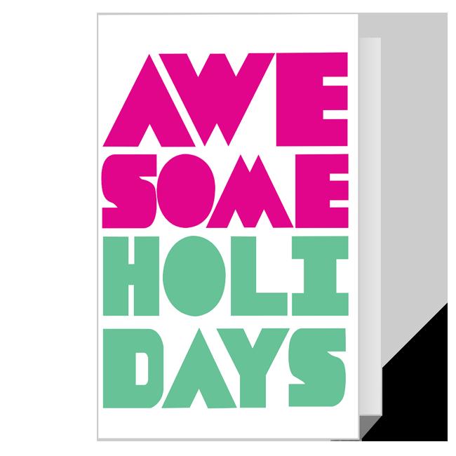 Cool like that! Printable Add-a-Photo Christmas Cards