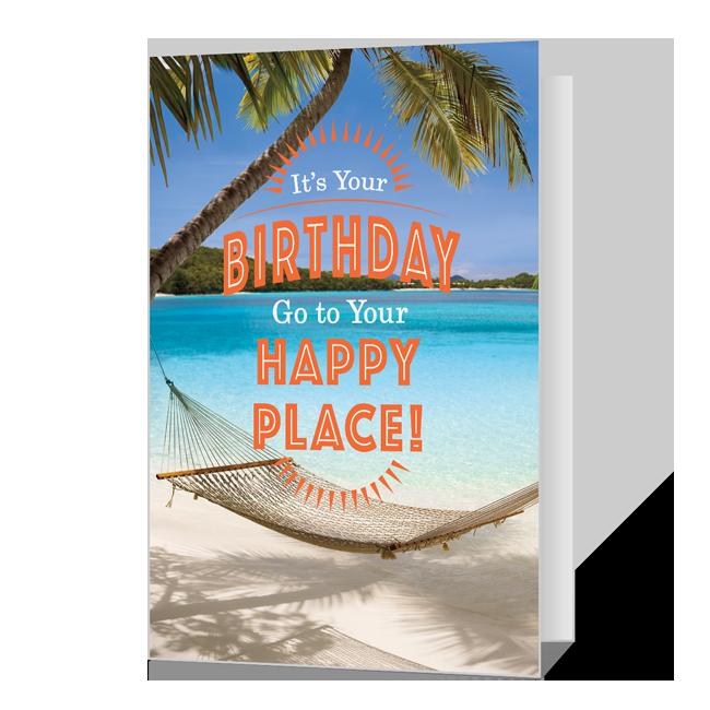 Happy Place Birthday Birthday Cards
