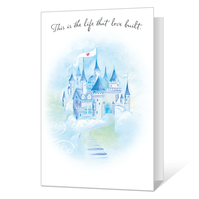 A Beautiful View Anniversary Cards