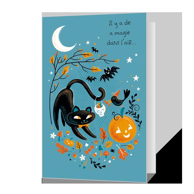 Magic Halloween Halloween Cards