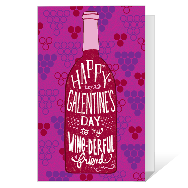 Happy Galentine's Day Printable Valentine's Day Cards