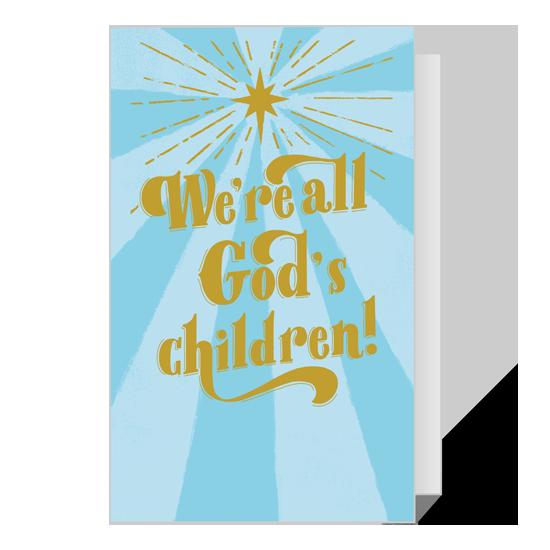 Dolly All God's Children Christmas Printable Christmas Cards