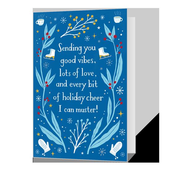 Dolly Holiday Cheer Printable Christmas Cards