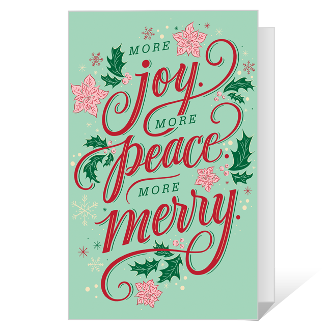 Dolly More Merry Printable Christmas Cards