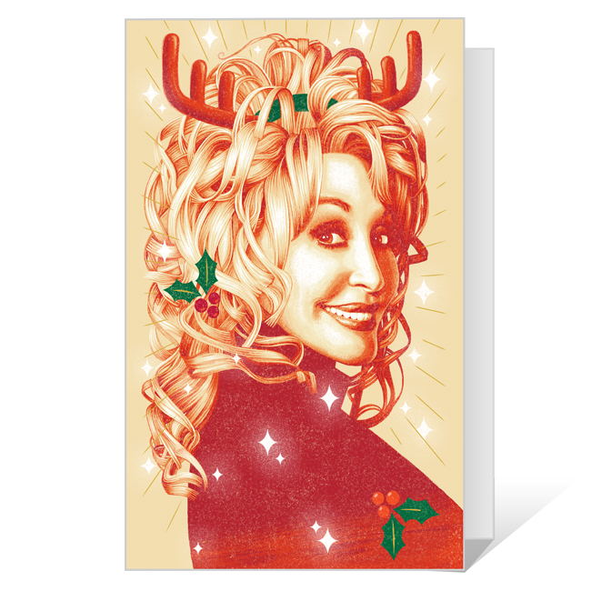 Happy Dolly Days! Printable Christmas Cards