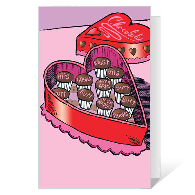 Cut To The Chase Valentine's Day Printable Valentine's Day Cards