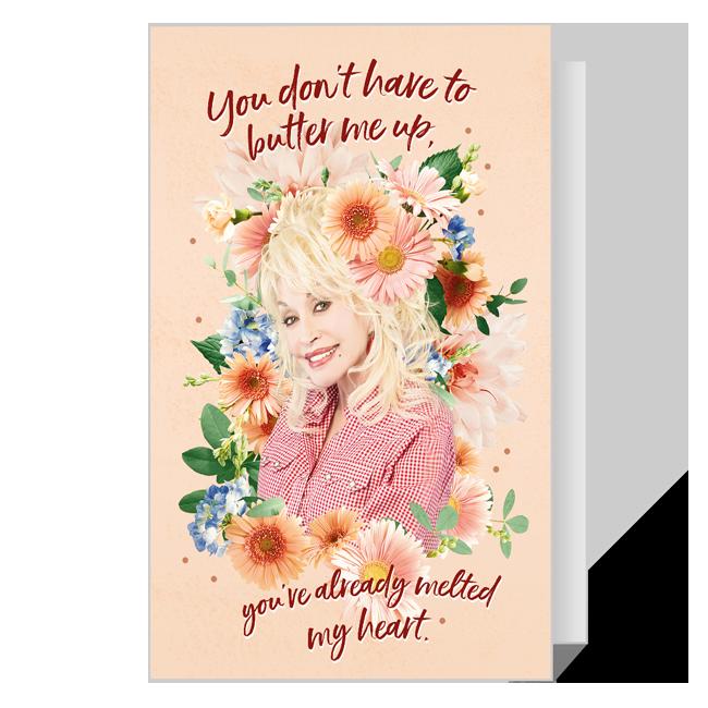 Dolly 'Melt My Heart' Valentine Valentine's Day Cards