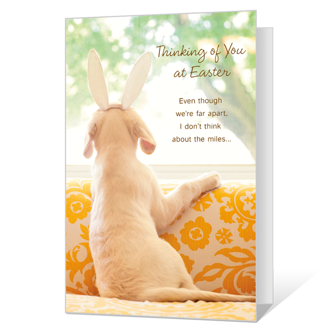 Thinking of You at Easter Easter Cards