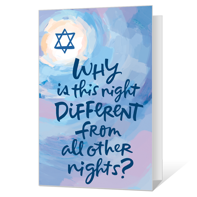 Thinking of you at Pesach Passover Cards